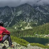 poprad lake in high tatras, popradske pleso, slovakia, what to do in high tatras