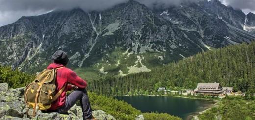 poprad lake in high tatras, popradske pleso, slovakia, what to do in high tatras